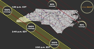 NCDOT Prepared for Solar Show, Teams Across North Carolina