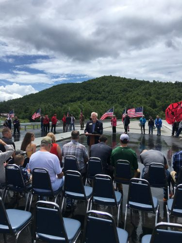 Bridge Dedication Connects Fallen to Future, Naming ceremony honors Sgt. Baldridge
