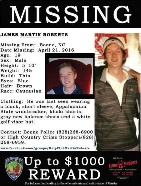 4 Years Since Disappearance of James Martin Roberts, Information Still Sought